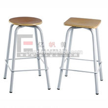 University Classroom Furniture Laboratory Stool , Lab Room Student Lab Stool