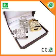 crystal led drive gadget promotional gift usb cable lock