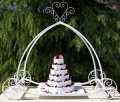 cake tools Cinderella carriage cake display stand for wedding