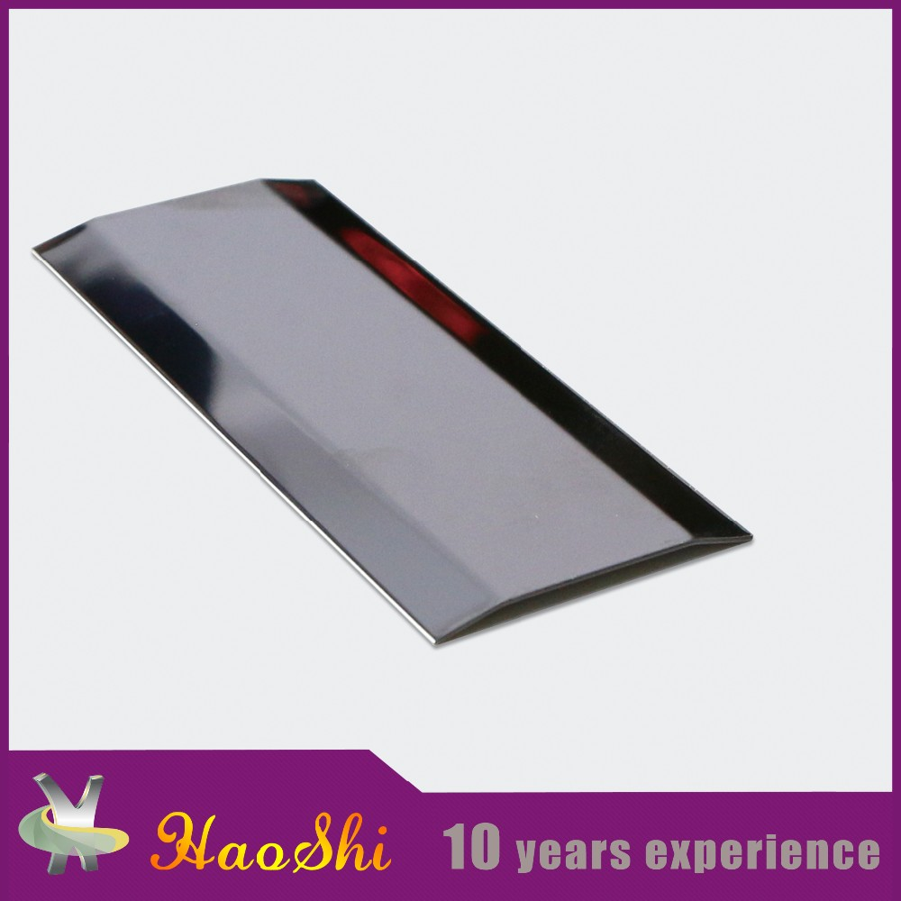 Quality assured ceramic border metal accessories stainless steel tile trim