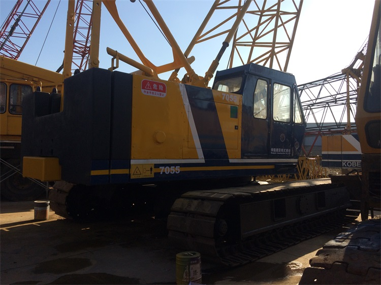 Used Kobelco 55 Ton Crawler Crane For Sale With Good Condition and Price
