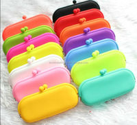 China Supplier Hot Selling 100% Food Grade Multi-functional Silicone Wallets Silicone Purses