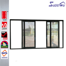 AS2047 residential or shopfront double glass Aluminium interior french doors sliding