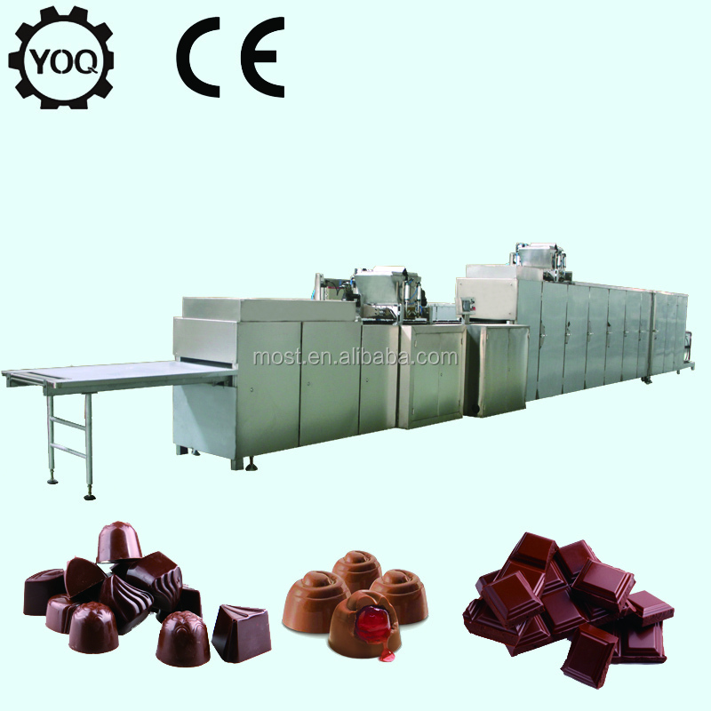 D1190 Hot Sale Double Colors Chocolate Processing Line in China