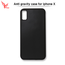 Magical Nano Sticky Selfie Cell Phone Shell Anti Gravity phone case cover for iphone X