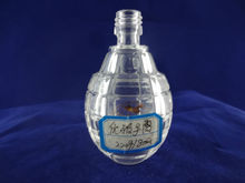 Wholesale small emtpy clear glass bottle miniature
