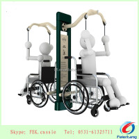 Arm extension apparatus----Handicapped outdoor exercise fitness equipment