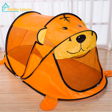Hot selling christmas gift play tent with mat with fabric material