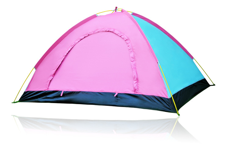 2 Persons Pop-up Tent Two Double Doors Waterproof Portable Set up and Tear Down in Seconds for Camping & Hiking , Trekking