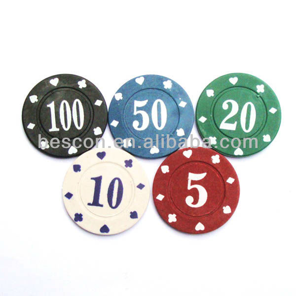 4g poker chips plastic coin casino chips