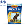 High quality standing packaging pouch stand up pet food bag