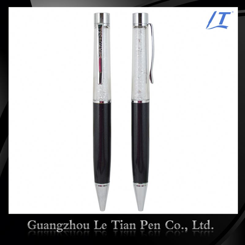 Colorful Customized Crystal Pen With Logo