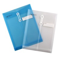 high quality water resistant a4 plastic document holder