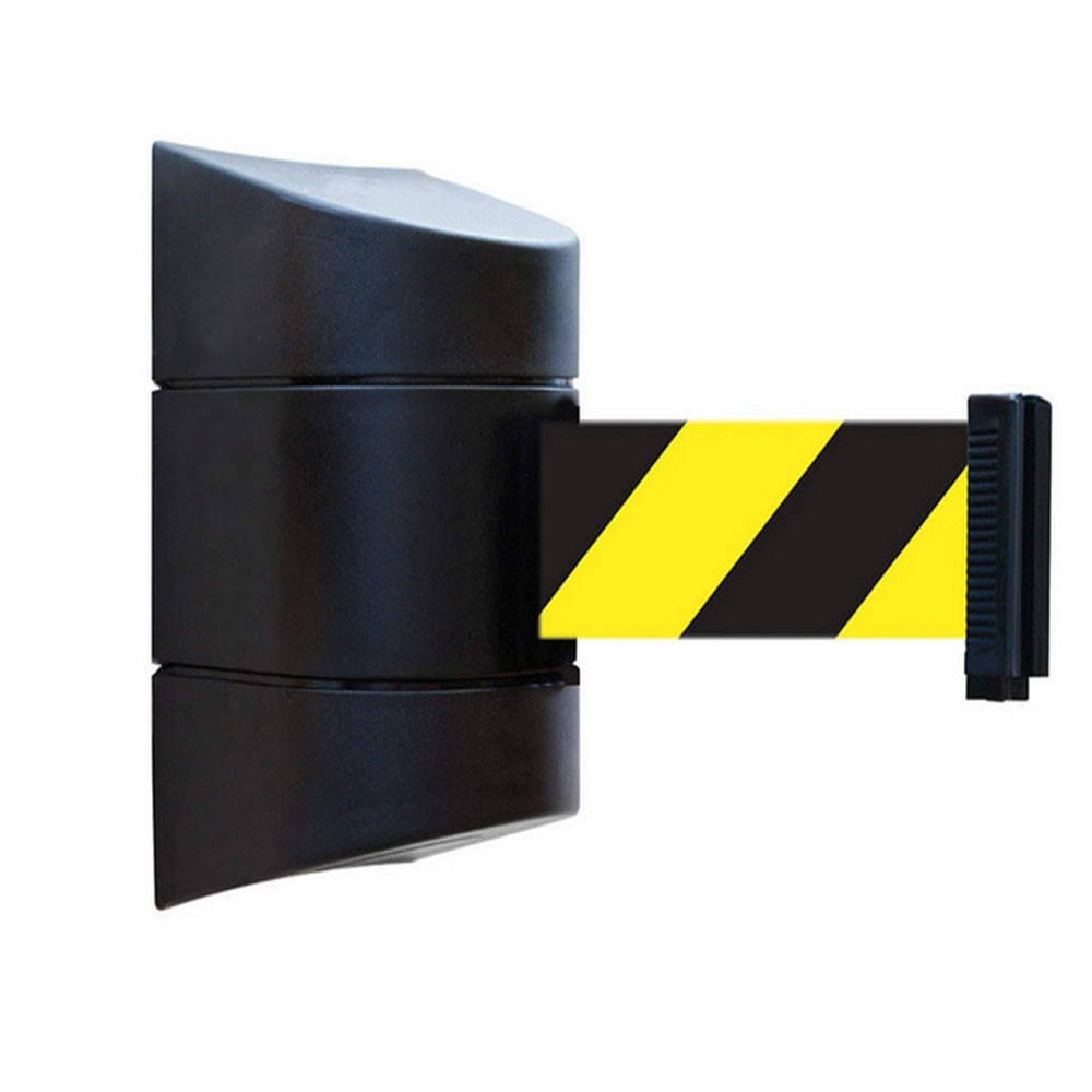 5M 8M 10M Plastic Retractable Wall Mounted Belt Barrier