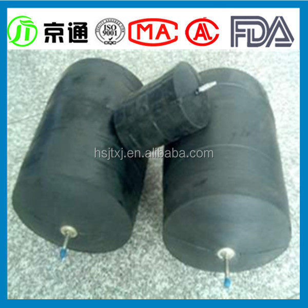 inflatable pipe stopper rubber air bag for bridge adjustable rubber plug
