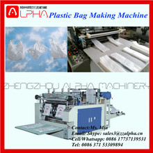 Alpha AP-ZD1 BOPP/OPP/CPP/PP Double side sealing and cutting plastic bag making machine