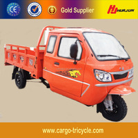 China Smal Business Use Gasoline Tricycle/Cabin Cargo Tricycle