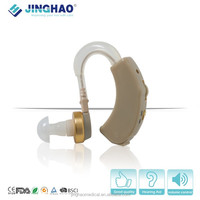 ear sound amplifier elderly tv china hearing aid earphone receiver cord