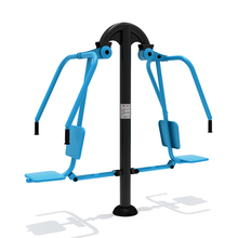 2016 New Design Outdoor Fitness Equipment Wholesale, Double Sit Push Trainer