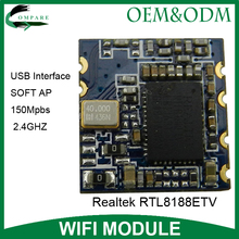 Compare wifi network adapter Realtek RTL8188ETV usb wifi wireless module