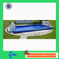 Customized size inflatable soap soccer field ,inflatable soap football field ,inflatable water soccer field
