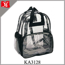 Custom Waterproof PVC Backpack Clear PVC School Backpack for Kids