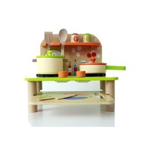 wood Material and Kitchen Toys Set Type pretend play toys