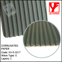 Different color corrugated paper