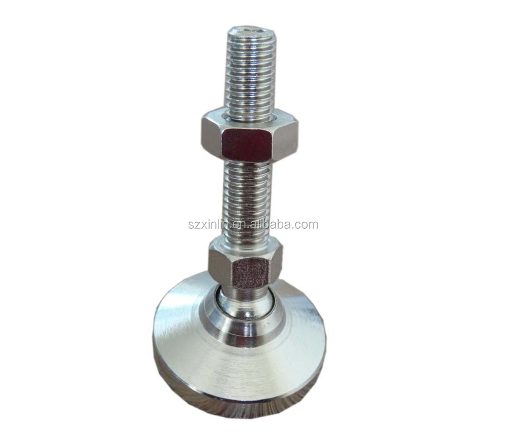 Anti-Vibration machine leveling Feet Heavy-Duty Machine Adjustable Leg Leveling Screw Feet Mount Glide Base