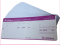 Anti-faking watermark encryption secure printed boarding pass ticket