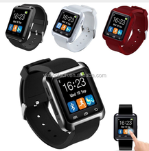 2016 New Bluetooth u8 smart watch for Andriod Mobile Phone with Bluetooth Wristwatch