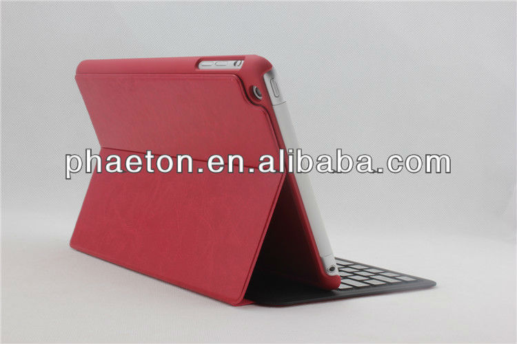 For iPad mini Ultra Thin Folio Bluetooth Keyboard With Detachable Back Case Thinnest Bluetooth Keyboard Case For iPad mini
