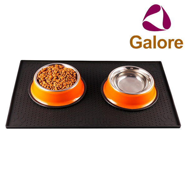 Cheap Price Silicone Waterproof Dog Food Mat Magnetic Pet Bowl Mat