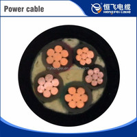 Lszh Braided Aluminum Conductor 4 Core Power Cable