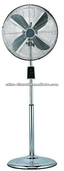 "16"" Metal Stand Fan With Remote Control"
