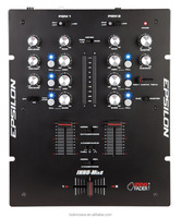 EPSILON INNO MIX 2 channel Digital Audio dj sound mixer at production cost