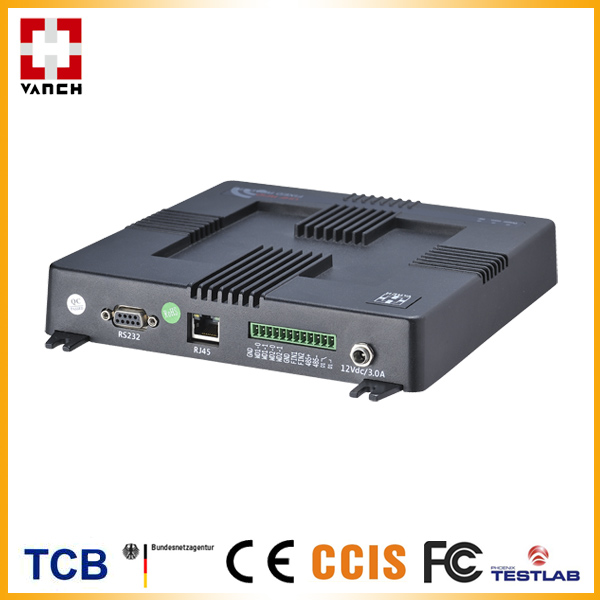 RS-232 UHF RFID fixed reader TCP/IP EPC C1G2 protocol