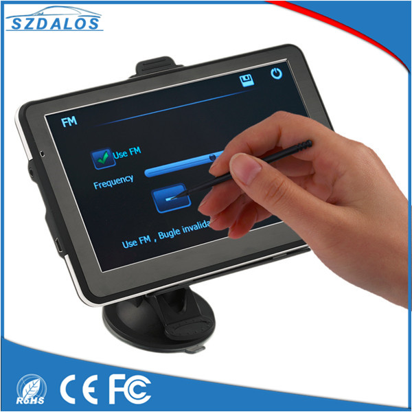 7inch HD CE GPS navigation 84h 3 With 256MB 8Gb Free Map Update