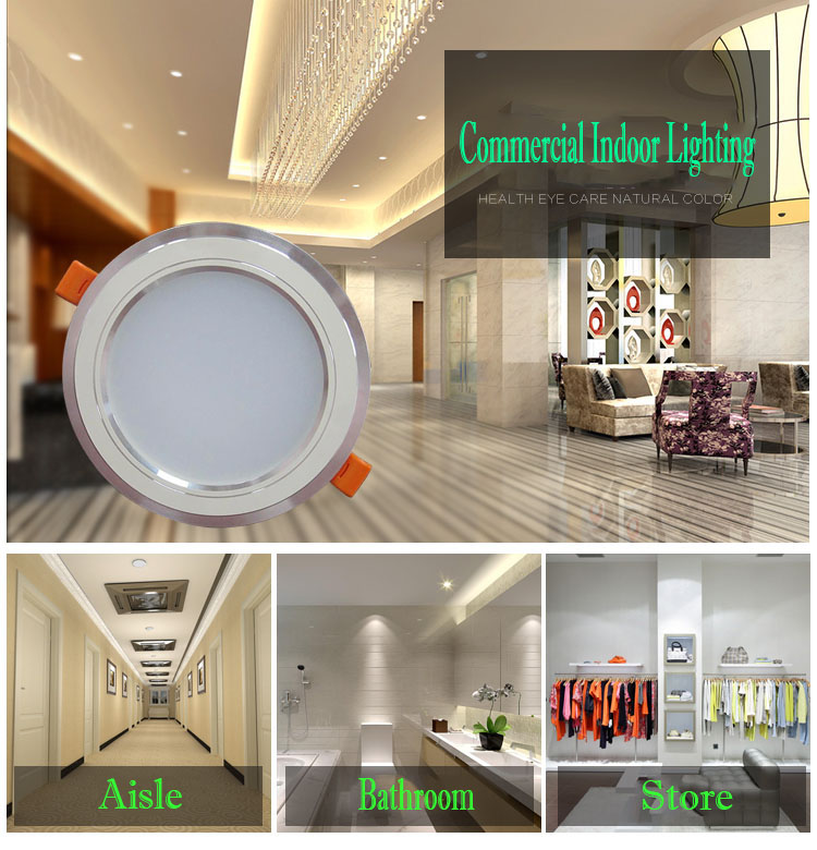 high quality dimmable recessed led downlight 12w shopping