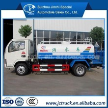 JAC international 4x2 water transport tanker truck spraying cars for sale