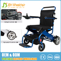 Favorable factory price great quality medicare electric wheelchair aluminum folding with intelligent controller
