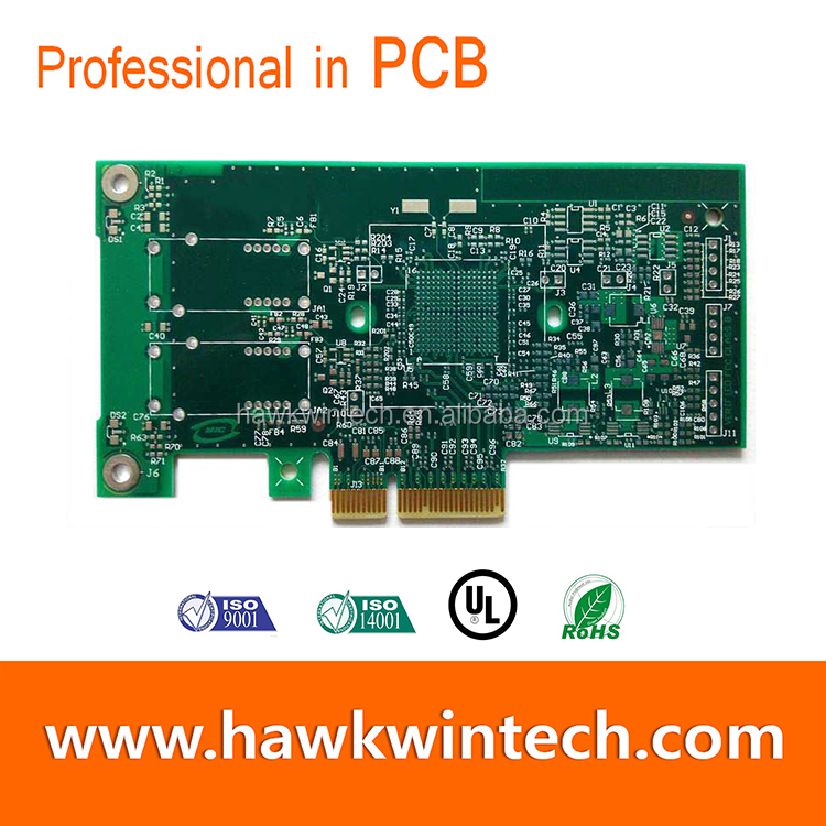 High quality PWB Inverter PCB Board PCB Gold Finger Multi-4 Layer PCB