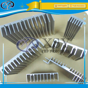 Aluminium Alloy Heat Sink Extrusion, Aluminium Car Radiator