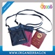 Encai Fashion Travel Neck Hanging Bag Organiser Handy Phone Zipper Pouch Wholesale Tickets & Passport Bag Inserts S