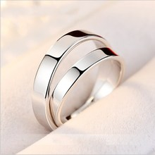 Super shiny ring 925 silver anillo de plata silber schmuck 925 accessories for women