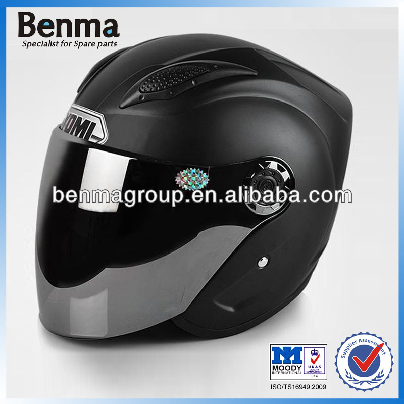 Modern Black Half Face Helmet for Motorcycle, Electrombile Helmet for Spring & Autumn Weather, Hot Sell !!