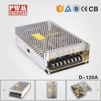 D-120 LED Multi Output Switching Power Supply 120W 12V 5V /doul output switch power