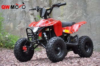 QWMOTO 2017 NEW RED SPIDER 800W 20AH QUAD BIKE 800W ELECTRIC FOUR WHEELER FOR KIDS 800W ELECTRIC KIDS QUAD BIKE(QWMATV-01C)