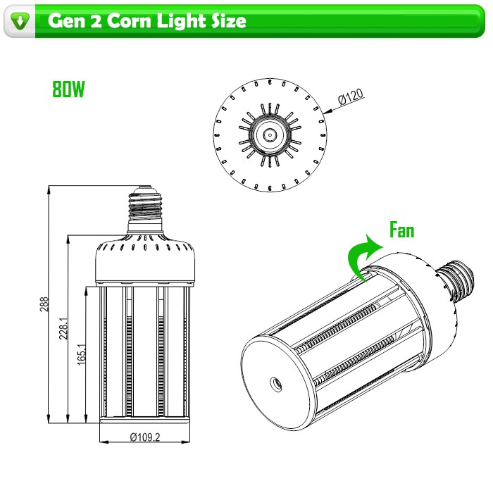 Wholesalers china new design Competitive price 120w 100w 80w e40 led high bay light for sale