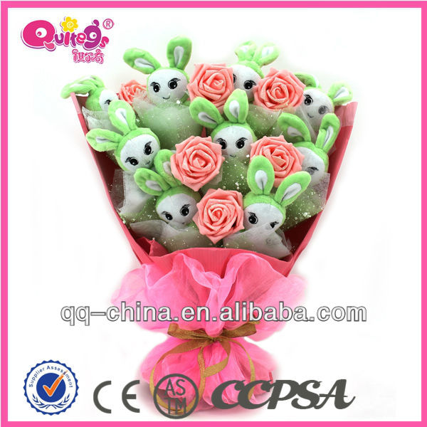 plush toy bouquet for valentine